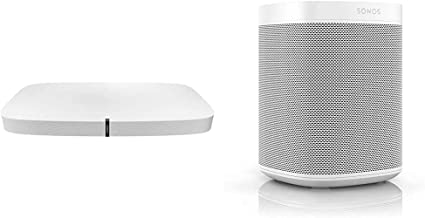 Sonos Playbase - Sleek Soundbase for TV, Movies, Music, and More - White & One (Gen 2) - Voice Controlled Smart Speaker wi...