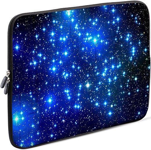 Sidorenko Laptop Tasche für 17-17,3 Zoll | Universal Notebooktasche Schutzhülle | Laptoptasche aus Neopren, PC Computer Hülle Sleeve Case Etui, Blau