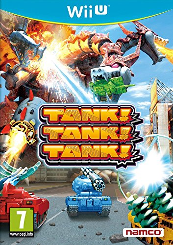 NEW & SEALED! Tank! Tank! Tank! Nintendo Wii U Game UK PAL