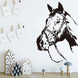 Stéréo Vision Cheval Sticker Mural Chambre D'enfant Animal Sticker Mural Bébé Chambre Décoration Accessoires Vinyle Décora...