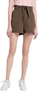 Our Heritage Paper Bag Shorts with Belt Sash