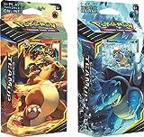 Pokemon Sun & Moon Team Up - Both Theme Decks Charizard & Blastoise (120 Total Cards!)