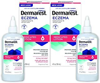 Dermarest Eczema Medicated Lotion, 4oz, Pack of 2