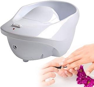 Elektrische massage Nagelwekkom, Jet Bubble Spa-massagekom, Vibrerende handkom, voor nagellak verwijderen, Dode huid verza...