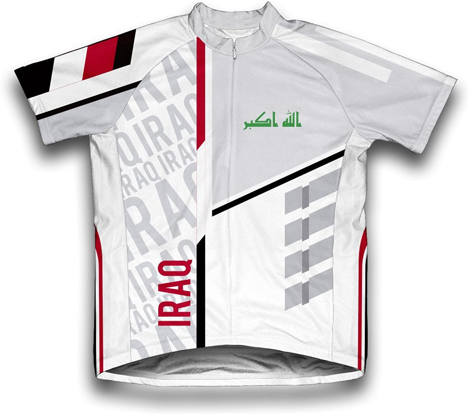 Iraq ScudoPro Short Sleeve Cycling Jersey for Men