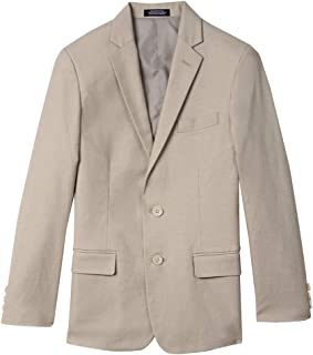 IZOD Boys' Big Linen Blazer Jacket