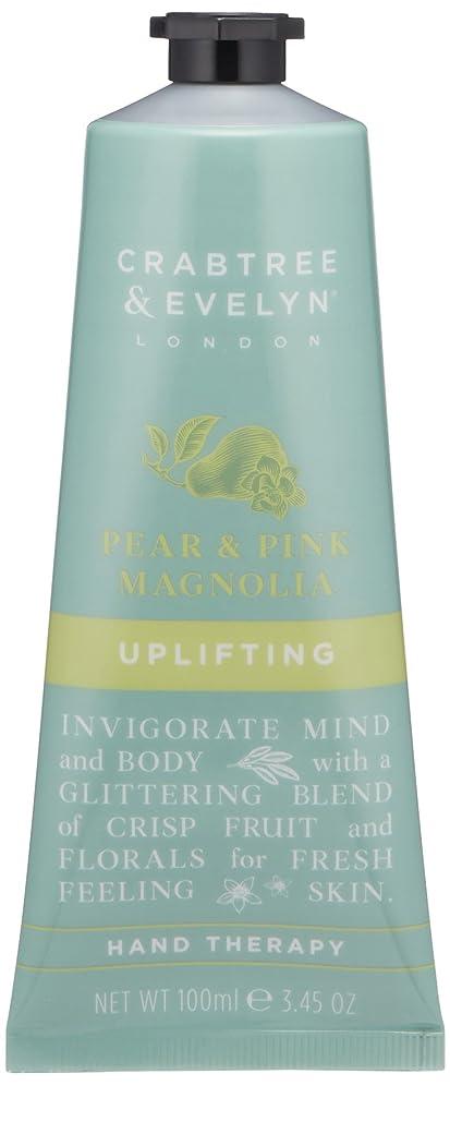 納屋スカーフ震えクラブツリー&イヴリン Pear & Pink Magnolia Uplifting Hand Therapy 100ml/3.45oz並行輸入品