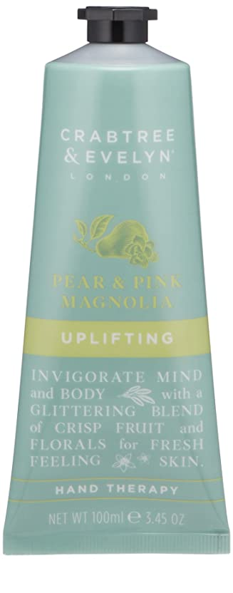 平和虫を数える太字クラブツリー&イヴリン Pear & Pink Magnolia Uplifting Hand Therapy 100ml/3.45oz並行輸入品