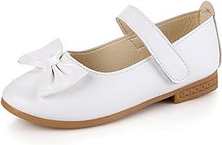 PPXID Fille Nœud Papillon Fête Mariage Chaussure à Fond Plat Vernis bébé Chaussure de Princesse