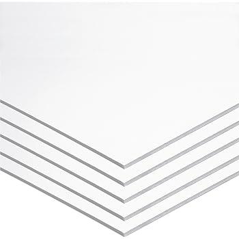 """UCreate Foam Board, White, 22"""" x 28"""", 5 Sheets"""