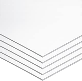 "Pacon Foam Board, White,  22"" x 28"", 5 Sheets"