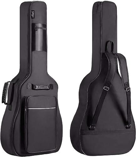 CAHAYA (Version 3.0) Housse de Guitare, Euit de Guitare en Tissu Oxford Impermeable avec Eponge de 12 mm, Sangles Reg...