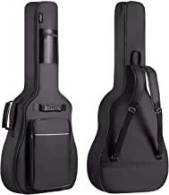 CAHAYA Guitar Bag [Premium Version] for 41 42 Inch Acoustic Guitar Gig Bag 0.5in Extra Thick Sponge Overly Padded Waterpro...
