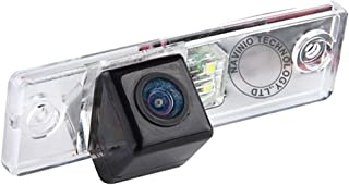 Navinio Waterproof High Definition Color Wide Viewing Angle License Plate Car Rear View Camera with Night Vision for 4 Runner/Land Cruiser 150-Series Prado/Fortuner/SW4 (HD camera)