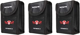 Anbee Mavic 2 Lipo Battery Safe Bag Fireproof Storage Bag for DJI Mavic 2 Zoom/Pro Drone [3-Sizes]