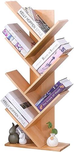 Bibliothèques en Bois Créative en Forme d'arbre De Chambre à Coucher EnvironneHommestale De Chambre d'enfant La Plus Petite Empreinte Au Sol, Super Port