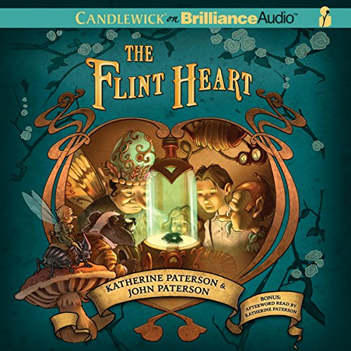The Flint Heart                   By:                                                                                                                                 Katherine Paterson,                                                                                        John Paterson                               Narrated by:                                                                                                                                 Ralph Lister                      Length: 4 hrs and 9 mins     7 ratings     Overall 3.6
