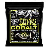 Ernie Ball Regular Slinky Cobalt Electric Guitar Strings 3 Pack - 10-46 Calibre