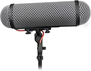 Rycote Windshield Kit 416 Pro Windshield and Shockmount for Sennheiser MKH 416, Also Schoeps CMIT 5U, Rode NTG3 and more