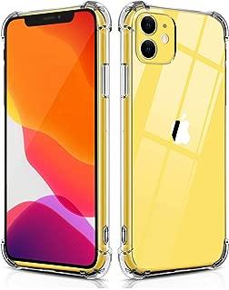 mobile store Armor Impact iPhone 11 Uyumlu Kılıf, Darbelere Karşı Koruyucu, Şeffaf Silikon PVC Kapak