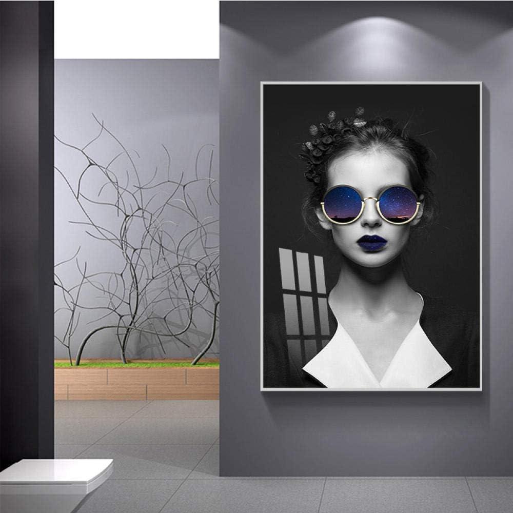 bajbajbaj1 Modern Fashion Women Figure Wall Attention brand Art New life Canvas Painting