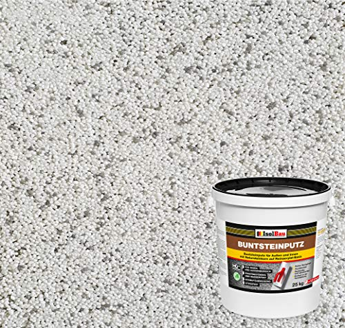 Buntsteinputz Mosaikputz BP70 (weiss, grau) 25kg Absolute ProfiQualität