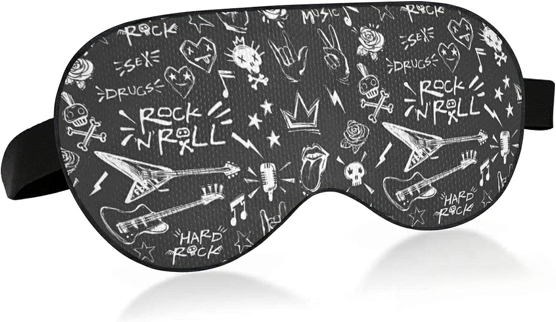 Wholesale Rock N Roll Elements Doodle Spring new work Bird Blindfol Eye Sleep Fabric Mask