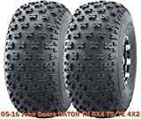 Set 2 Utility ATV front tires 22.5x10-8 for 05-16 John Deere GATOR TH 6X4 TS/TE 4X2