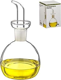 Dcasa - Aceitera de cristal antigoteo 500 ml en caja