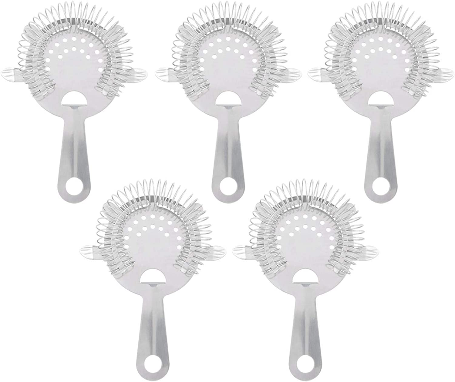Ice Strainer -5Pcs Limited time sale 304 Steel Outlet SALE Filter Cockt Stainless