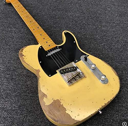 YYYSHOPP Guitars & Gear - Guitarra eléctrica con cuello de arce para guitarra eléctrica, guitarra...