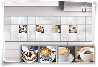 Fliesenaufkleber Fliesenbild Fliesen Aufkleber Sticker Kaffee Pause Küche Bild