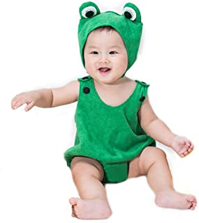 Wow Lovely Baby Boy Toddler Green Frog Costume