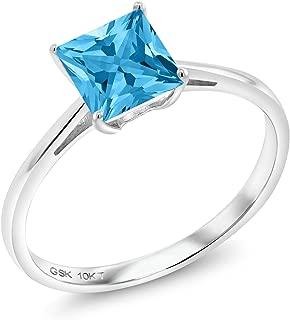Best princess cut gemstone engagement rings Reviews