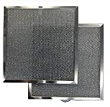 Replacement Range Hood Filter Compatible with Broan / Nutone Model S99010316 - 11-1/4 x 11-3/4 x 3/8 (2-Pack)