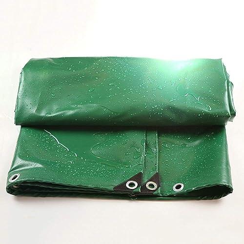 Bache épaissir écran Solaire Extérieur Multifonctionnel Imperméable à l'eau Ombre Tissu en Plastique Plusieurs Tailles Peuvent être Personnalisés GMING (Couleur   Vert, Taille   4x4M)