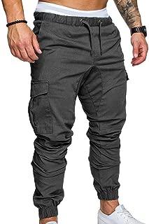 Pantalones De Chándal para Hombre Lang Tooling Multi Pocket Pants Tela para Hombre Pantalones Casuales Fit Sports Pants 2018 Spring Autumn