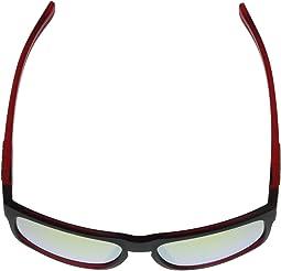 Crimson/Raven Frame Smoke Yellow Lens