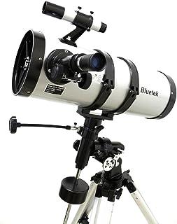 Telescópio Astronômico Equatorial Newtoniano 1400150eq Com Ampliação 2100x BM-1400150