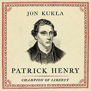 Patrick Henry audiobook cover art