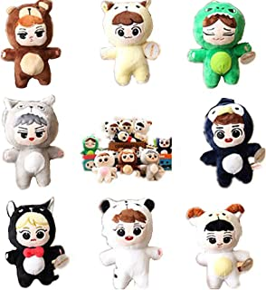 VogueMing 15 cm/6'' Kpop EXO Animal Plush Doll Toy Sehun Kai Chen Baekhyun Chanyeol Xiumin D.O. Lay Suho Doll 【in Stock】 (CHEN)