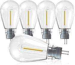 OxyLED 4 Packs Nieuwe Versie S14 LED Vervangende Lampen Voor Nieuwe Versie S14 LED Lichtslingers