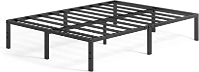 ZINUS メタル ベッドフレーム ダブル Yelena Metal Platform メタル すのこ 静音 ベッド下収納 耐久性 通気性 パイプベッド 頑丈 スチール   ベッド 組み立て簡単 工具付き ジヌス   日本正規品 MPSC
