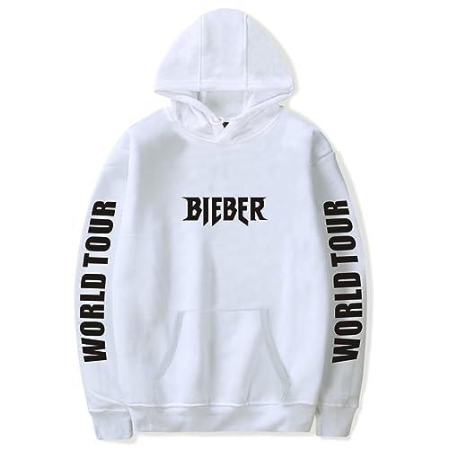 a04839fb726e SERAPHY Unisex Pullover Justin Bieber Hoodie Purpose Tour Bieber World Tour  Sweatshirt for Women Men