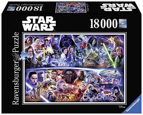 Ravensburger 17827 - Star Wars Puzzle, 18000 Pezzi