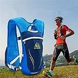 AONIJIE 5.5L Sac à Dos hydratation Sac à Dos extérieur Mochilas Trail Marathoner Running Race Gilet...