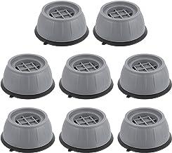 Angoily 8 Stuks Anti Vibration Pads Wasmachine Ondersteuning Anti Slip Anti Trillingen En Lawaai Verminderen Rubber Voor A...