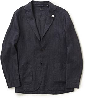 LARDINI ラルディーニ メンズ シャツ ジャケット シングル リネン 2B JRAMAJ EIC11196