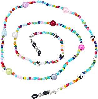 NUOBESTY Eyeglasses Strap Chain Sport Eyewear Retainer Sunglass Straps Glasses String Holder Glasses Cord Lanyards for Adu...
