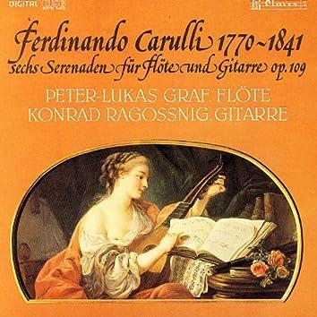 Carulli: Sérénades pour guitare & flûte Op. 109